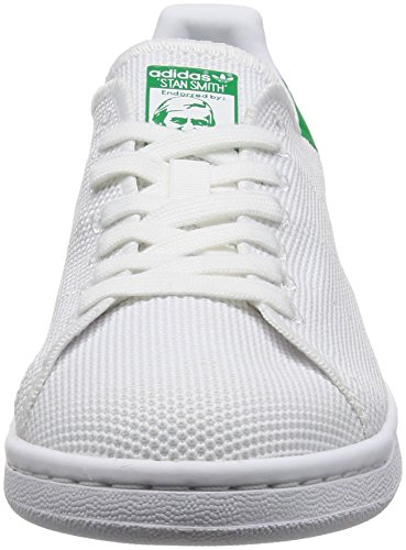 adidas Stan Smith, Sneakers Basses Homme Blanc (Ftwwht/ftwwht/green)