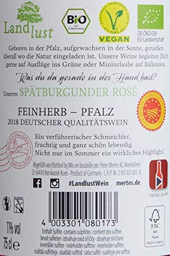 Landlust Spätburgunder Rosé feinherb (6 x 0.75 l)