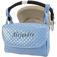 Danielstore - Bolso Plastificado carrito bebe personalizado (nombre a elegir)