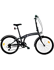 "Girardengo - Bicicleta 24"" Microbike Plegable"