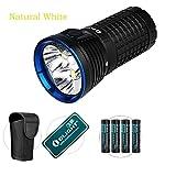Bundle: Olight X7Marauder CREE XHP 70LED 9000Lumen Taschenlampe Cool/natürliches weißes Licht, X7 Marauder Natural White(with batteries)