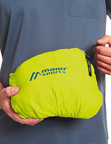 MAIER SPORTS Funktionsjacke Metor M aus 100% PES in 22 Größen, Packaway-Jacke/ Outdoor-Jacke/ Herren Jacke, wasserdicht und atmungsaktiv spring