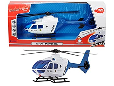 Dickie Toys 203716001/AMA - Sky Patrol, Rettungshubschrauber inklusive Batterien, 36 cm von Dickie-Spielzeug