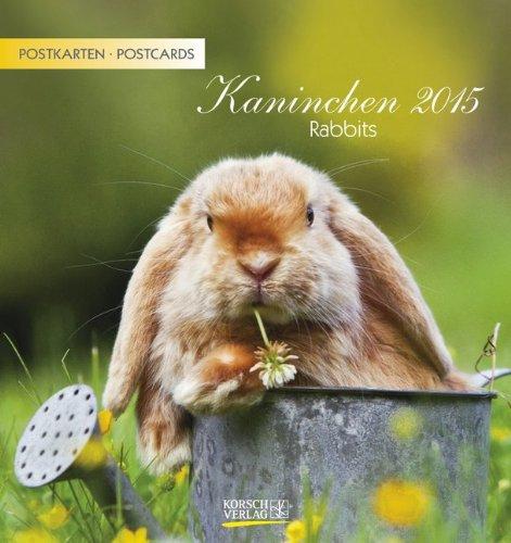 Kaninchen 2015: aufstellbarer Postkarten...