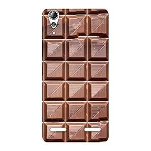 Impressive Delicious Choco Back Case Cover for Lenovo A6000 Plus