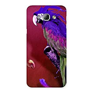 Magic Parrot Back Case Cover for Galaxy A8