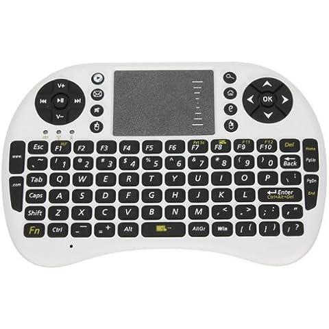 Mini portátil 2,4gHz teclado inalámbrico con Touchpad Ratón Combo para HDPC Win 7Vista XP 2000por