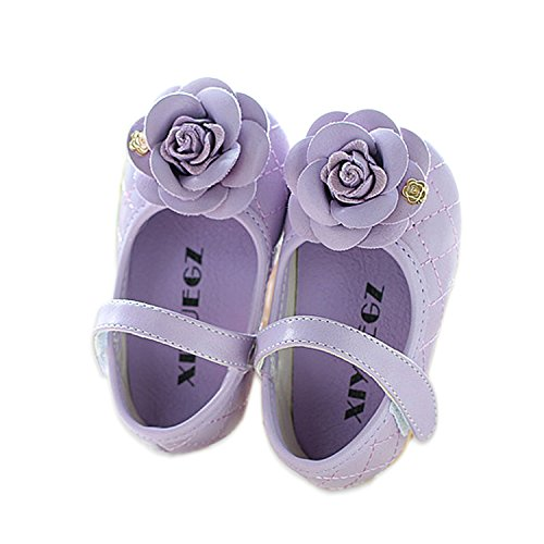 Cinda Baby- Blumen-Schuhe Lila