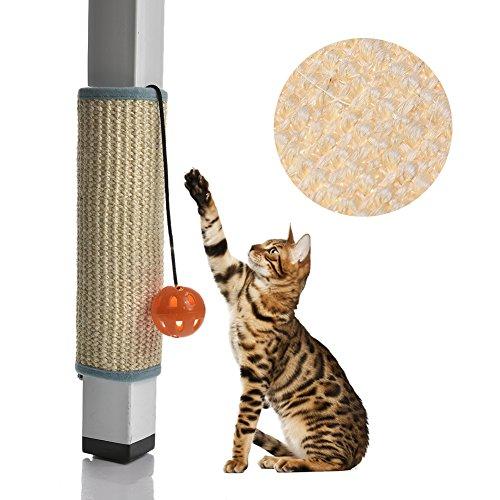 Yunt giocattolo tiragraffi per gatti, tappeto di protezione per artigli e mobili