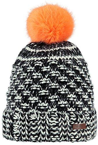 Kazbek Berretto con Pompon Barts berretto con pompon cuffia con risvolto Taglia unica - nero