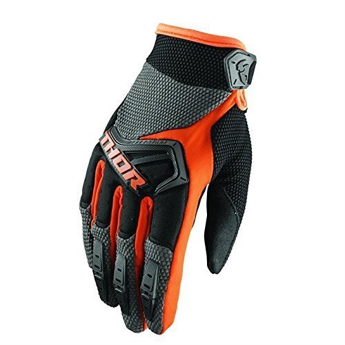 Thor Spectrum Motocross MTB Handschuhe 2018 - Charcoal Orange