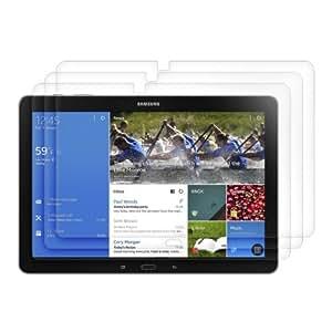 3x kwmobile Folie für Samsung Galaxy Note Pro 12.2 / Tab Pro 12.2 - kristallklar Tablet Displayschutzfolie Crystal Clear Displayschutz Displayfolie Schutzfolie