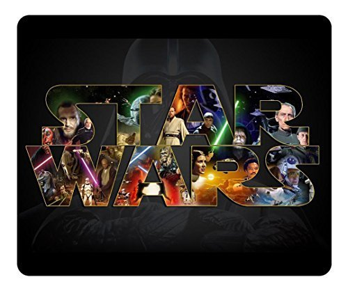 Water-Resistant Personalized Rectangle Non-Slip Mousepad Star Wars Logo High Quality Gaming Pad Oblong Soft Gaming Mouse Pads Logo Slip