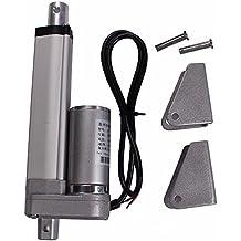 Rishil World DANIU 200mm Stroke 750N Load Mini Electric Actuator Linear Tubular Motor Motion 12V DC