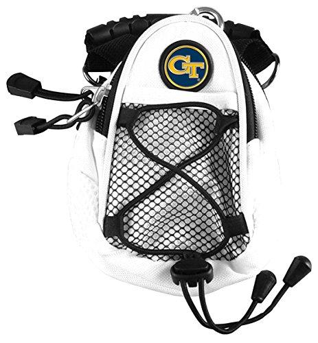 LinksWalker NCAA Georgia Tech Gelb Jacken–Mini Day Pack–Weiß