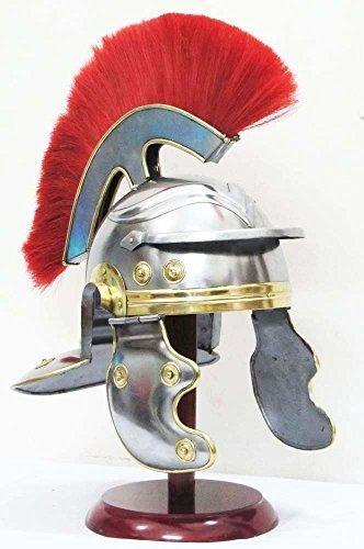 Shiv Shakti Enterprises Medieval Roman Centurion Gallic Helmet Spartan Greek Knight Sugarloaf Crusader by Shiv Shakti Enterprises (Roman Spartan Kostüm)