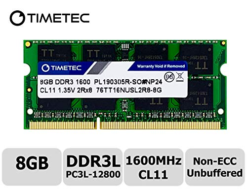Timetec Hynix IC 8GB DDR3L 1600MHz PC3-12800 Unbuffered