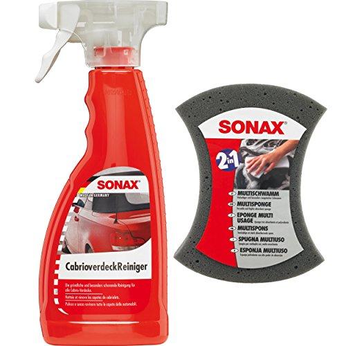 1-x-500-ml-sonax-cabrio-capote-nettoyant-capote-nettoyant-sonax-multi-eponge-eponge