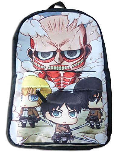 Attack on Titan SD Characters Sublimated Zaino
