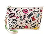 Best Pouch - Cute Waterproof Cosmetic Pouch Travel Case Make up Review