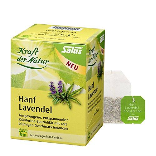*Hanf Lavendel Kräutertee bio 15 FB (25 g)*