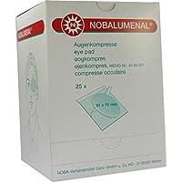 NOBALUMENAL Augenkompr.54x70 mm steril 25 St Kompressen preisvergleich bei billige-tabletten.eu
