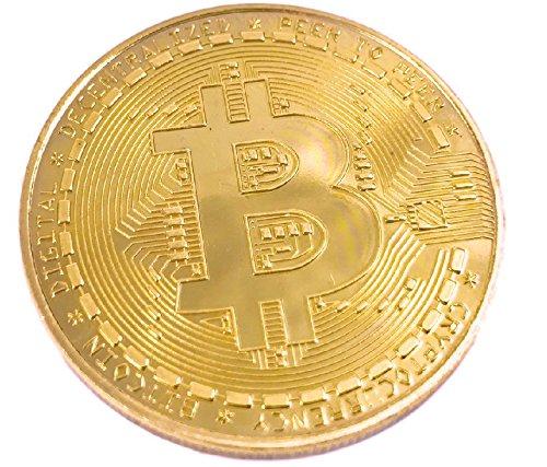 """'""""Achtung: No se trata la moneda virtual bitcoin sino solo para una coleccionistas moneda de cobre. perfecto como regalo Diámetro: 39,5mm Peso: 31gramos aprox con cápsula de protección de plástico duro transparente"""