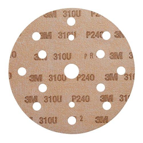3M Hookit Schleifscheibe 310U, 150 mm, P240, LD861A, 100 Stück / Karton