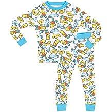 Simpsons - Pijama para Niños - Simpsons - Ajuste Ceñido