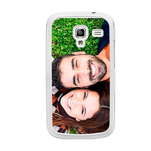 Funda Personalizada Samsung Galaxy A3 / 2016/2017 A5 / 2016/2017 A6 / Plus A7 A8 2018 Ace 2/3 / 4 Alpha con la Foto y el Texto Que Quieras (Samsung Galaxy A7 2018)