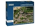 Lampoldshausen - Puzzle 1000 Teile mit Bild von oben