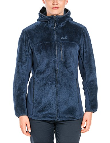 Jack Wolfskin Damen Polar Night Flex Fleecejacke, Dark Sky, L