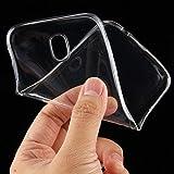 Samsung Galaxy J5 2017 DuoS Silikon Tasche Transparent Hülle Bumper Silicon Case
