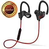#10: Lambent QC10 Bluetooth Headset Runner Headset Sport Stereo Sweatproof Earphones with Mic and Earhook For All Android & Iphone Smartphones (Assorted Colour)