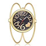 67ea2968746c JiaMeng Damas Mujeres Pura Cara De Acero Inoxidable De Malla De Banda Reloj  analógico de Pulsera