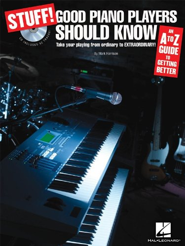 Stuff! Good Piano Players Should Know (Book And CD). Sheet Music, CD for Keyboard, Piano