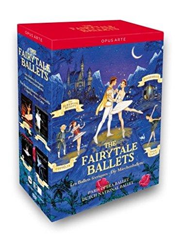 The Fairytale Ballets / Die Märchenballette (Coppelia, Schwanensee, Cinderella, Dornröschen) [4 DVDs]