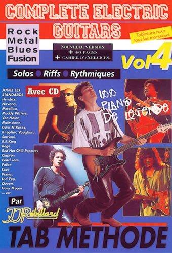 Complete Electric Guitars Vol.4 CD Tab