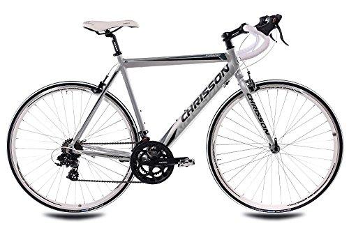 """CHRISSON 28\"""" Zoll ALU RENNRAD Fahrrad FURIANER mit 14 Gang Shimano A070 walumin matt, Rahmengröße:56 cm"""