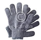 Peeling Handschuh aus Bambus Naturfasern mit Anionen entlassendem Effekt.