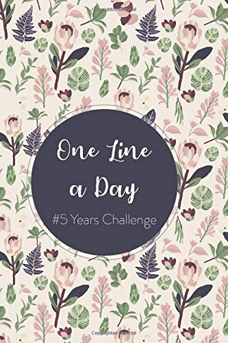 One Line A Day Journal: #5 Years Challenge