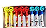Fancy Smiley pens Damroo style - Pack of...