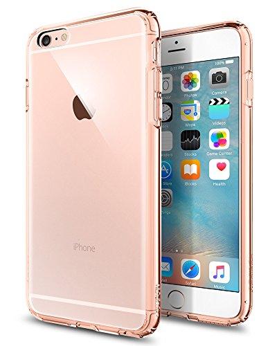 Spigen SGP11726 Ultra Hybrid Kompatibel mit iPhone 6S Plus Hülle, Einteilige Transparent Durchsichtige PC Rückschale Schutzhülle Case Rose Crystal