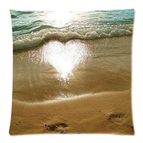 Pillowcase Quallen Baumwollleinen, quadratisch Kissenbezug Fashion Kissenbezug Home Deko Baumwolle Polyester Kissen Bezug (45x 45cm, Zwei Seiten)