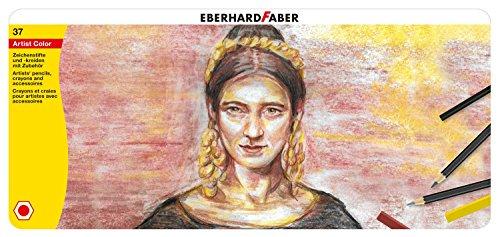 Eberhard Faber 516937 - Zeichenset Artist Color, 37 teilig (Artist Color-stifte)