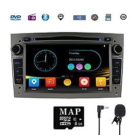 GPS per auto stereo satellitare Navigatore per Opel, unità a doppia testa Din 7 pollici 2 car stereo con lettore CD DVD…