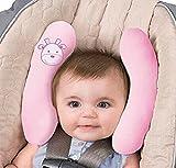 Kinderwagenkissen, Kopf- und Halssätze für Kindersitz, verstellbares Nackenstützkissen, Auto-Reisekopfkissen für Babysitz. Kinder Kleinkind Kinderwagen Kinderwagen Kopf unterstützt