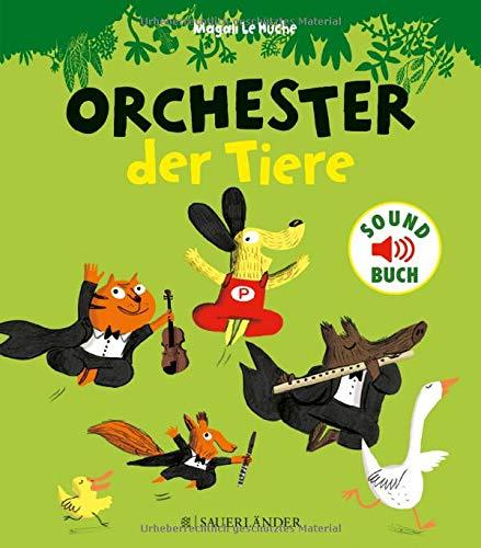 Orchester der Tiere (Soft-Touch-Soundbücher) (Des Orchesters Instrumente)