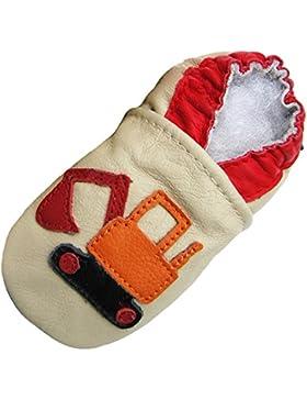 Carozoo - Zapatillas de Estar por casa de Piel para niño 15