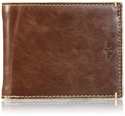 Dockers Men's Slimfold Wallet with Coin Pocket, Tan, One Size